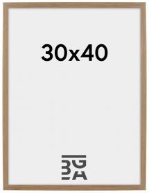 Rock ramme Eg 30x40 cm