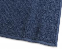 Badelagen Stripe Frotté - Marineblå 90x150 cm
