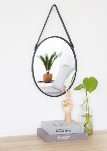 Spejl Lea Sort 35x45 cm