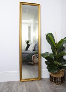 Spejl Alice Guld 35x150 cm