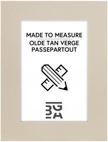 Passepartout Olde Tan Verge - Bestilt efter mål
