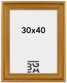 Mora Billedramme Premium Guld 30x40 cm