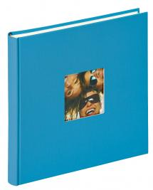 Fun Album Havsblå - 26x25 cm (40 Hvide sider / 20 blade)