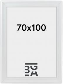 Ramme Mora Premium Hvid 70x100 cm