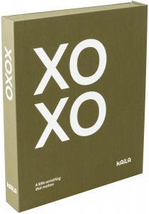 KAILA XOXO Olive - Coffee Table Photo Album (60 Sorte Sider / 30 Blade)