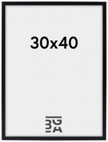 Edsbyn Sort 30x40 cm
