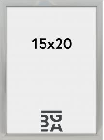 Nielsen Premium Alpha ramme Blank Sølv 15x20 cm