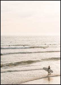 Surfers Beach Plakat