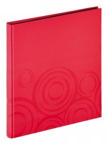 Orbit Rød - 30x33 cm (40 Sorte sider / 20 blade)
