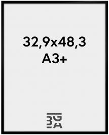 Ramme New Lifestyle Akrylglas Sort 32,9x48,3 cm (A3+)