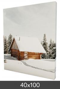 Canvasbillede 40×100 cm - 18 mm