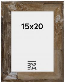 Superb Træbrun 15x20 cm