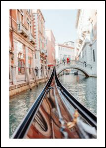 Gondola in Venice Plakat