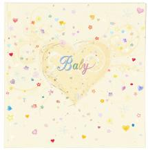Premium Babyalbum - 25x25 cm (50hvidesider / 25ark)